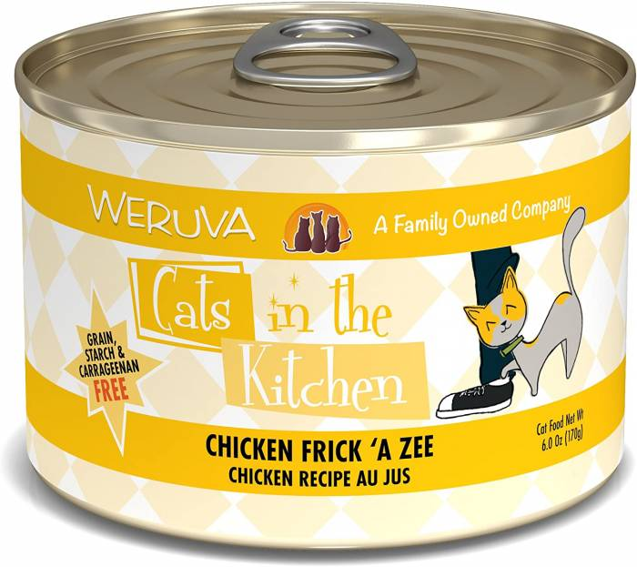 Weruva Cats in The Kitchen Grain Free Natural Canned Wet Cat Food