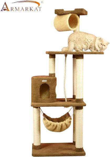 Aeromark International Armarkat Cat Tree Furniture Condo, Height 70 Inch to 75 Inch