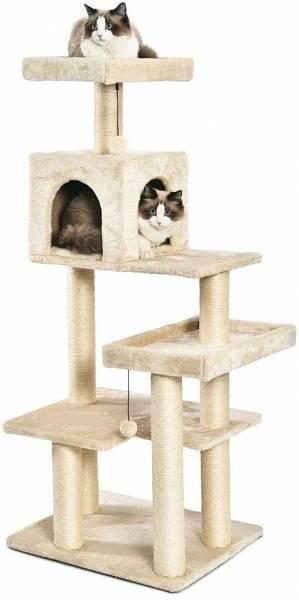 AmazonBasics Multi Level Cat Tree with Scratching Posts