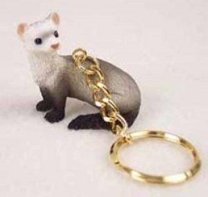 Ferret Keychain ferret Gift