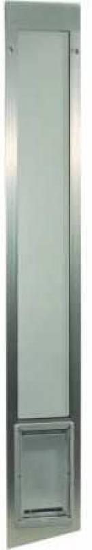 Ideal Pet Products 80 Fast Fit Aluminum Pet Patio Door
