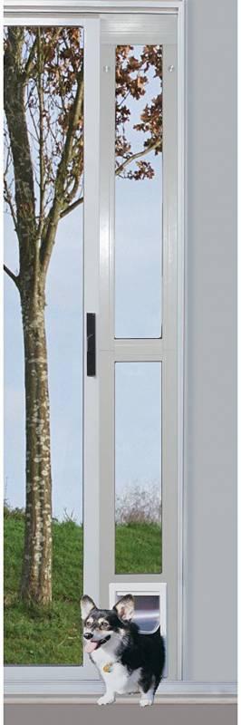 Ideal Pet Products Aluminum Modular Pet Patio Door, adjustable height