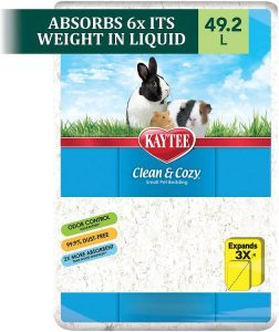 Kaytee Clean & Cozy White Small Animal Bedding Litter Odor Control