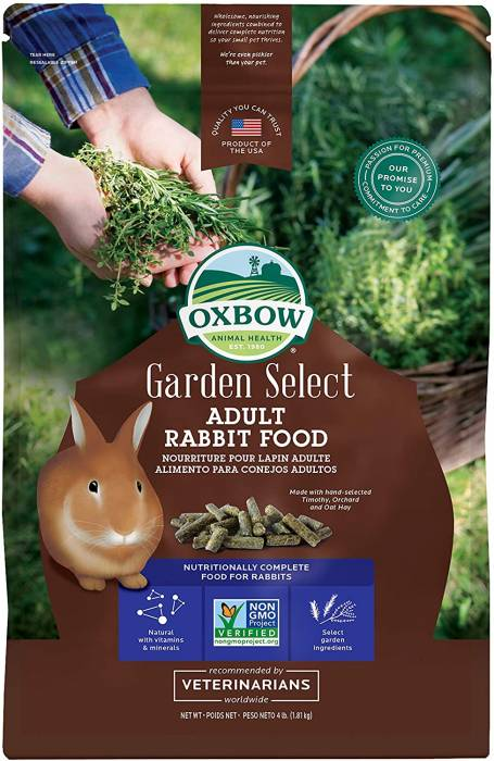 Oxbow Garden Select Fortified Food for Rabbits