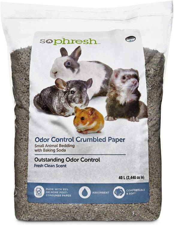 So Phresh Scented Crumbled Paper Small Animal Bedding Litter Odor Control