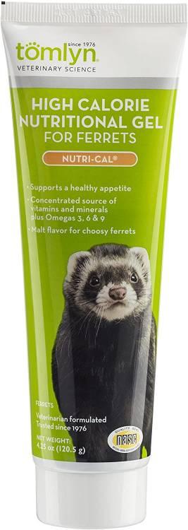 Tomlyn Nutri Cal Malt Flavored High Calorie Nutritional Gel for Ferrets, 4.25oz